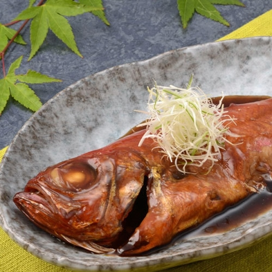 【一番人気】まるごと1匹!金目鯛の煮付と会席プラン【ファミリー/カップル】