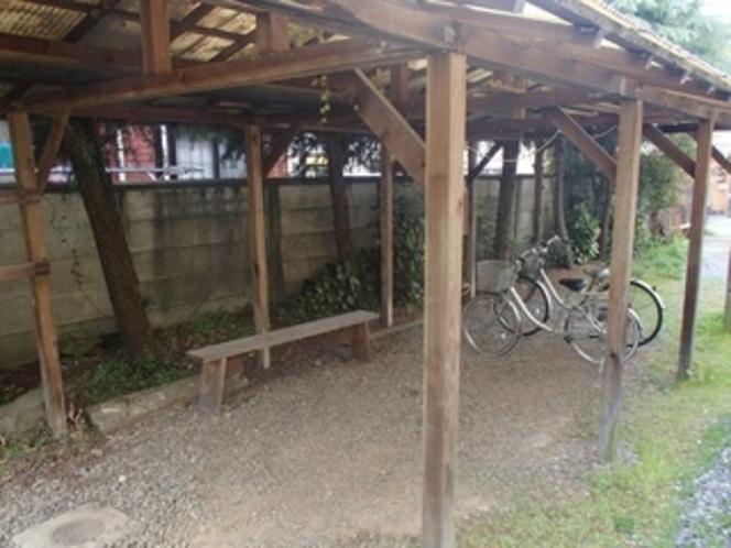 【駐輪場】 大型バイクも駐輪可能です