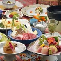 *地魚満喫料理(一例)