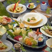 *【特選会席】(一例)当館で一番贅沢な料理プランです!