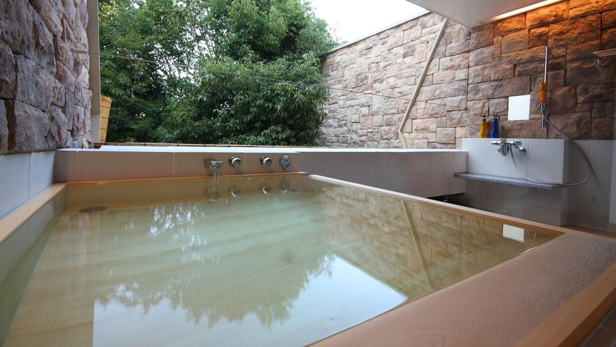 【露天風呂付和洋室◆with oak 201】お風呂のイメージ