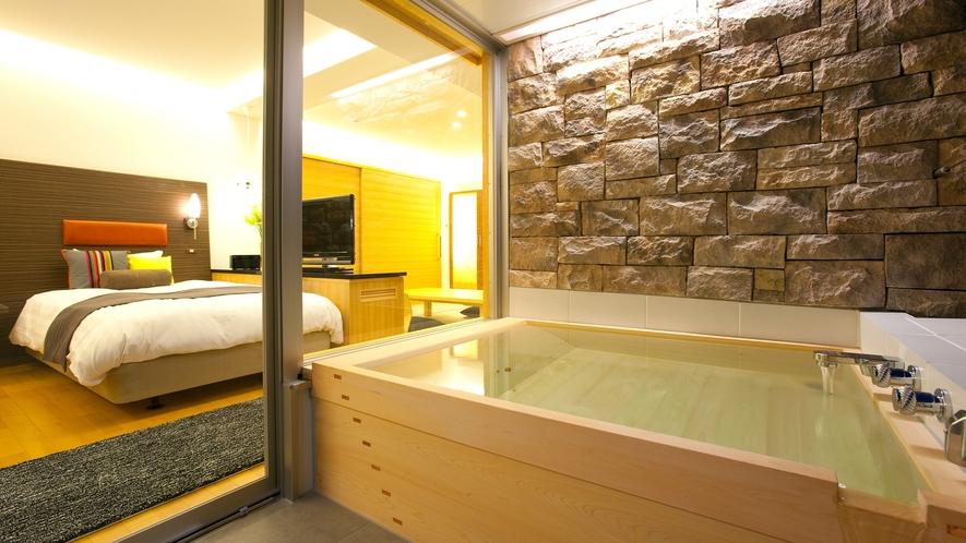 【露天風呂付和洋室◆with oak 201】お部屋のイメージ