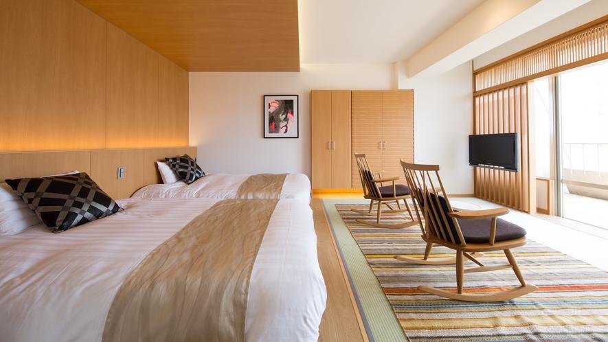【露天風呂付和洋室+リビング付◆Sora501】お部屋のイメージ