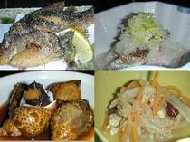 郷土料理の一例