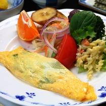 【朝食】オムレツ/素材を活かした料理