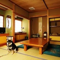 【ペット部屋】愛犬と過ごせるお部屋