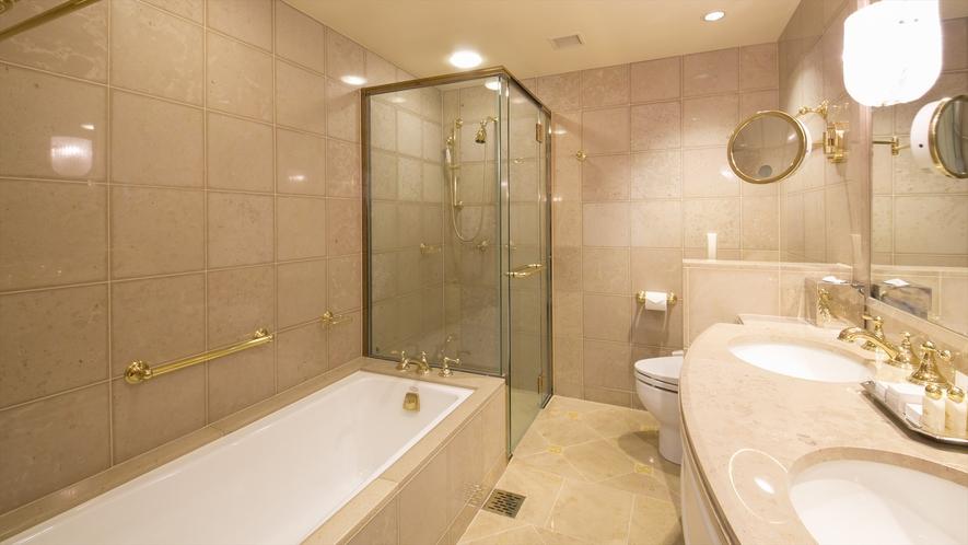 浴室一例(プレジデンシャルスイートルーム)
