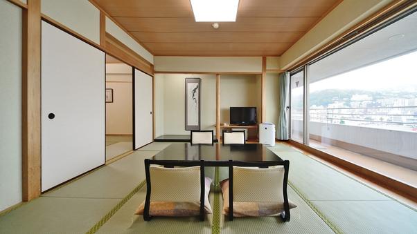 [高層階]広々和室10畳+6畳(7〜8階)