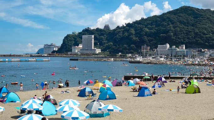 【夏休み】熱海サンビーチ&マリンスパもすぐ!ゆったり過ごせる広々客室☆バイキングプラン