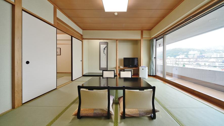 【和室 44平米】サンミ倶楽部のスタンダード客室です。次の間付ですので広々とお過ごし頂けます。