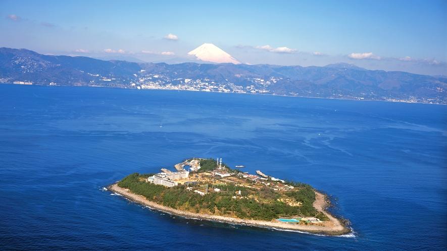 人気のアイランドリゾート♪初島へは熱海からフェリーで!