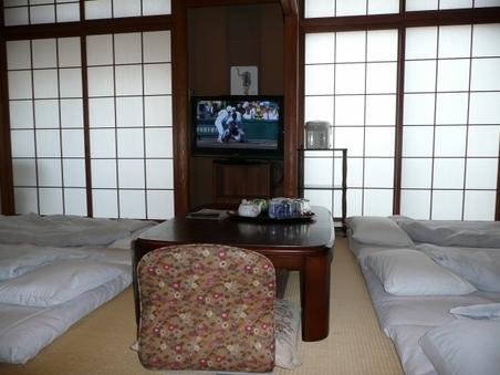 和室21畳(貸切家族風呂)☆32インチハイビジョンテレビ☆
