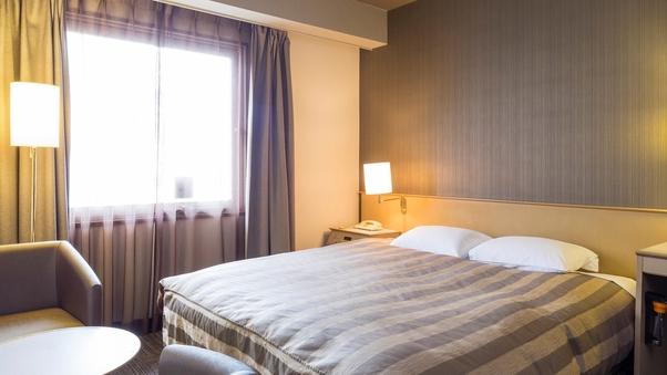 ◆禁煙ダブルルーム <17.5平米・ベッド幅160cm>