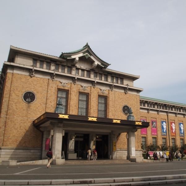 京都市美術館 周辺は桜の名所♪