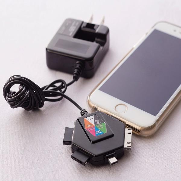 <客室アメニティ>携帯電話・スマホ用 マルチ充電器