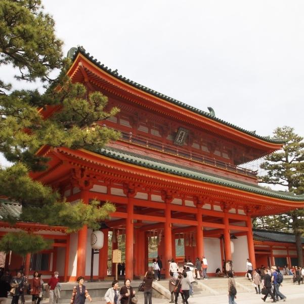 立派なたたずまい 平安神宮