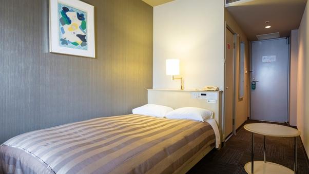 ◆禁煙セミダブルルーム <14.8平米・ベッド幅120cm>