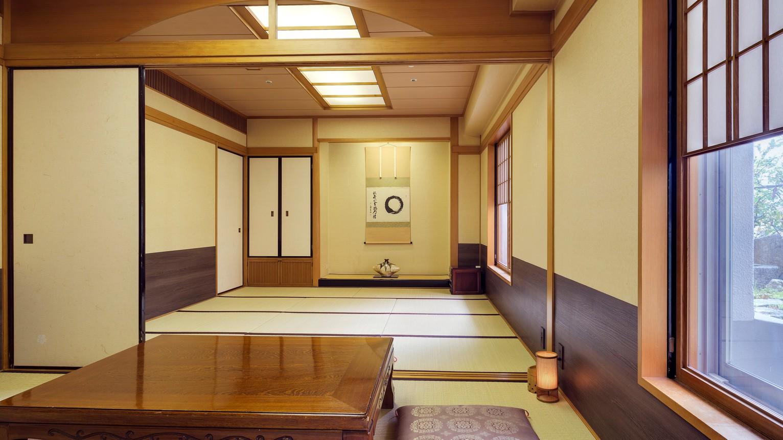 <和室>40平米/ご利用可能人数3名様〜6名様迄 ※ご予約はお電話にて承ります。