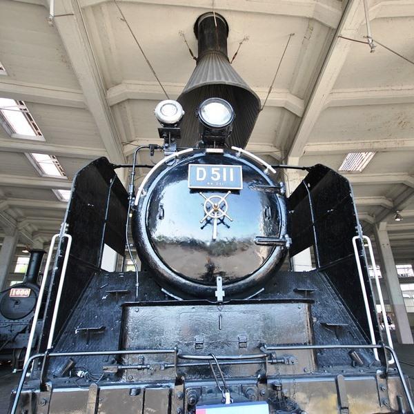 梅小路蒸気機関車館D511
