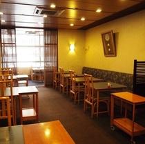 2階京料理「味舞」にてランチ、夕食をどうぞ
