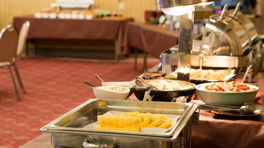 <朝食バイキング>会場リニューアル♪ 味舞(みぶ)にて7時~9時半まで。  ※稼働状況により、会場が