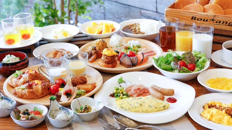 ●朝食バイキング