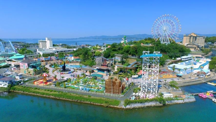 ●浜名湖パルパル:フロントで入園券をお渡ししております。