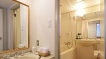 ●デラックスツインルーム・バスルーム