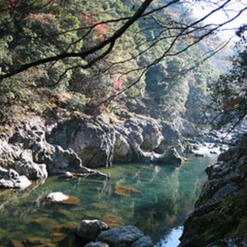 美しい渓谷「長門峡」