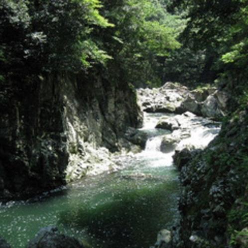 長門峡でマイナスイオンをたっぷり浴びながら、のんびりとハイキングしてみませんか?