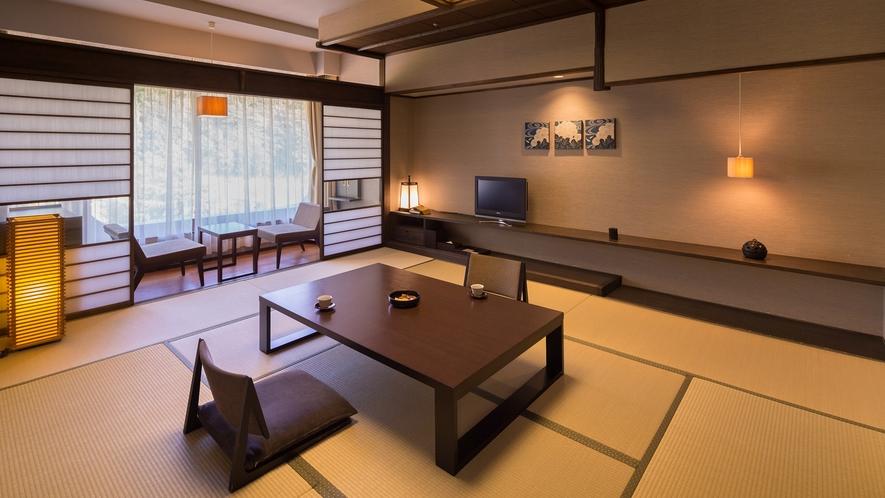 【上質な寛ぎ空間♪】最上階8階−モダン和室(山側)一例