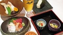 ◆日替わり晩酌セット(※夕食イメージ写真)