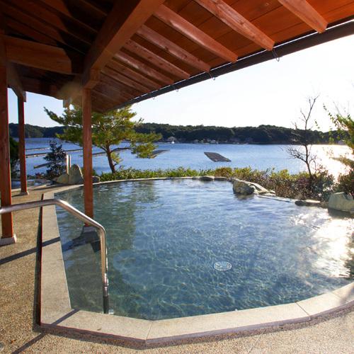 ■庭園露天風呂(昼景・女湯)