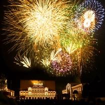 ■志摩スペイン村夏の花火(夏期限定)