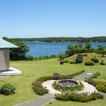 ■「サミット記念庭園」伊勢志摩サミット開催時に議長国会見場となりました。
