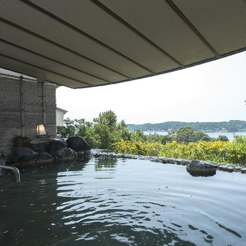 ■大浴場横の露天風呂