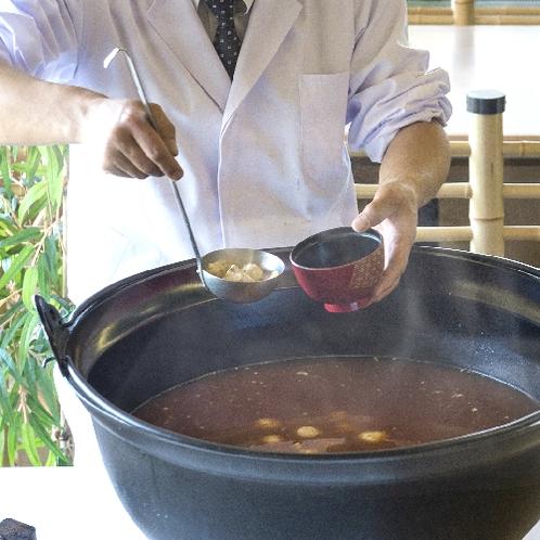 ■朝食バイキング(レストラン)志摩の郷土料理漁師汁