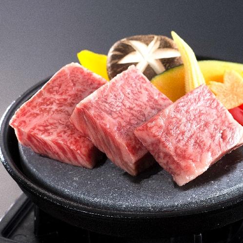 ■松阪牛の石焼き(別注料理)