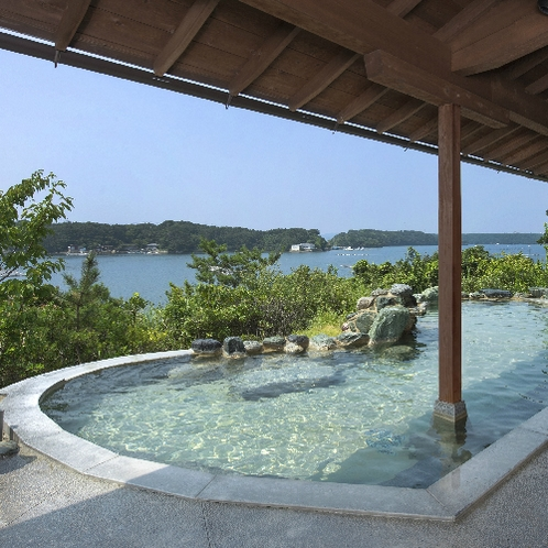 ■庭園露天風呂「朝なぎの湯」(男湯)