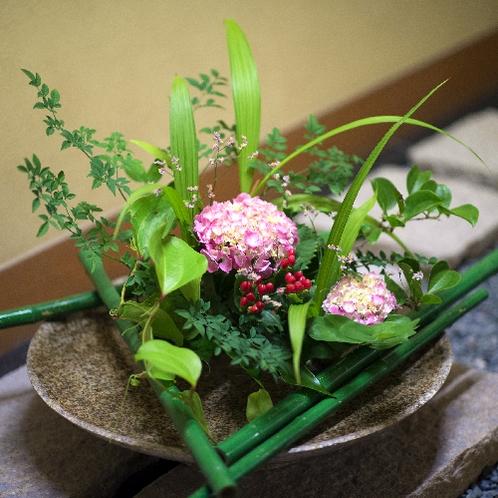 ■館内の生け花