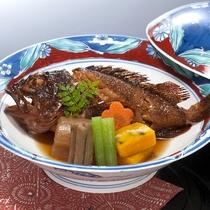 ■地魚の煮つけ(別注料理)