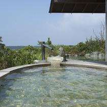 ■庭園露天風呂「夕なぎの湯」(女湯)