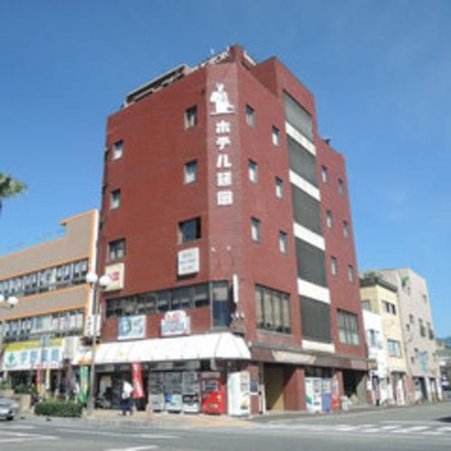 *延岡駅より徒歩1分以内!駅前に立つ老舗ビジネスホテルです