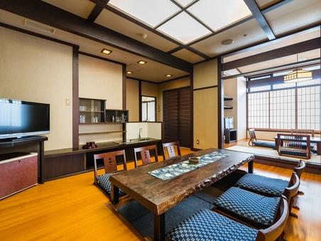 エクセレントルーム(6階露天風呂付和洋特別室)【禁煙】