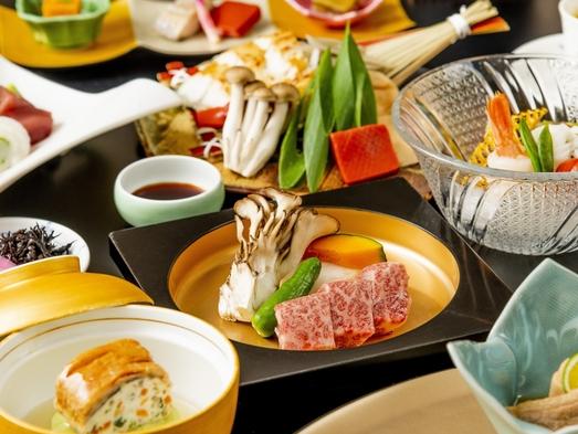 【露天風呂付客室】近江牛陶板焼き&鰻のじゅんじゅん鍋がメインの夏会席プラン