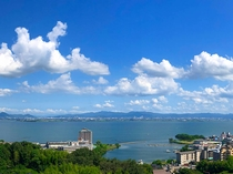 雄山荘からの眺望(イメージ)