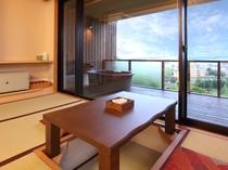 「星のしずく  陶器風呂タイプ」客室(一例)