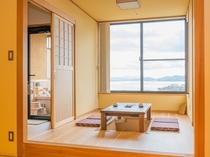 「エグゼクティブ山野草」客室(一例)