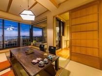 「エグゼクティブ里山和室」客室(一例)
