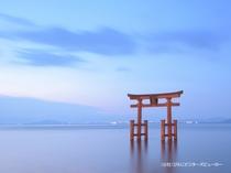白鬚神社(雄山荘から車で約30分)